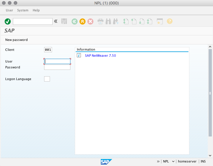 How to install a mini SAP - NetWeaver AS ABAP 7 50